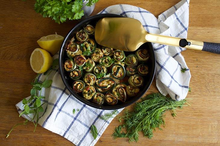 Zucchini Rollups recipe