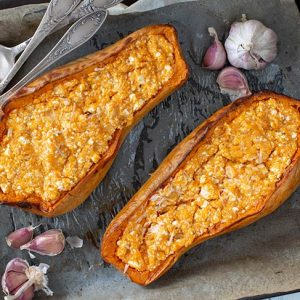 Baked Butternut Squash dovleac copt