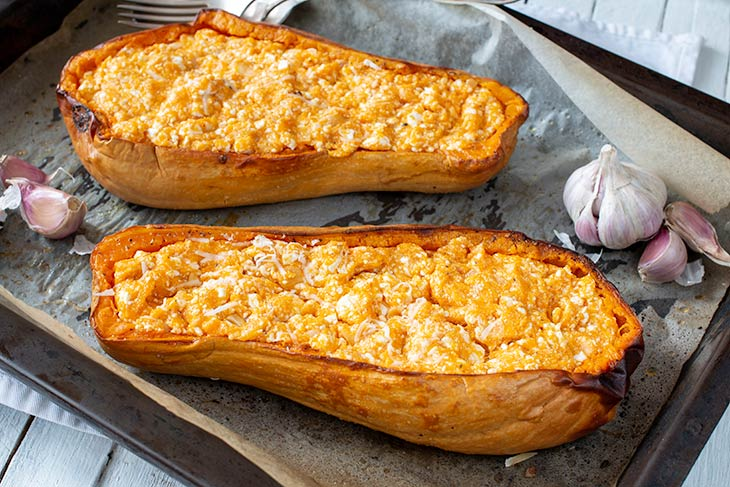 How to make Baked Butternut Squash