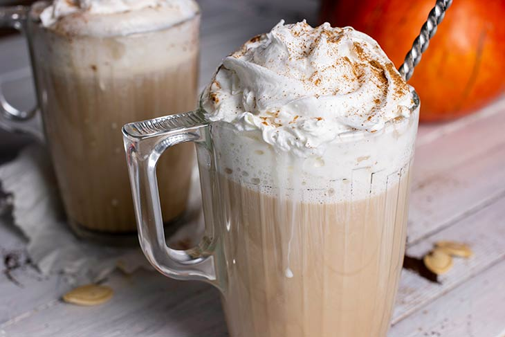 Homemade vegan pumpkin spice latte starbucks copycat