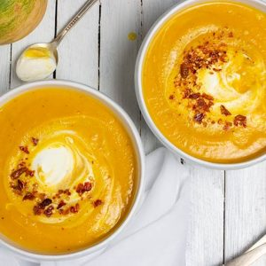Spicy Pumpkin Soup Supa de dovleac reteta de toamna