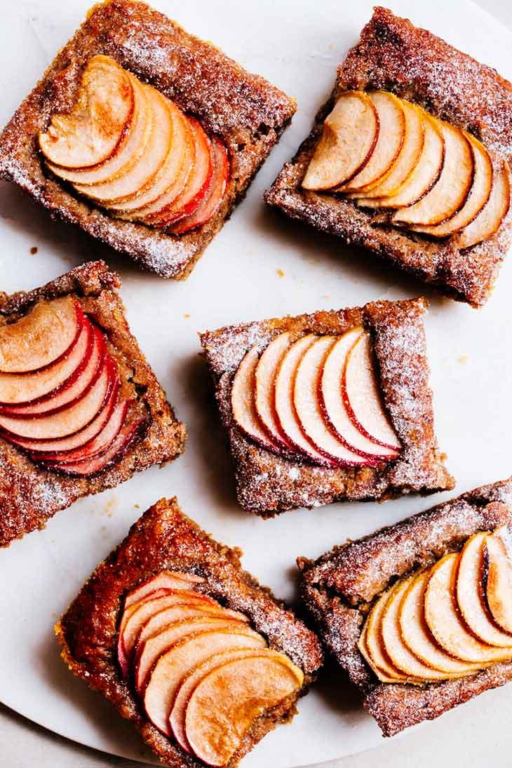 Swedish Apple Cake Gluten Free + Vegan