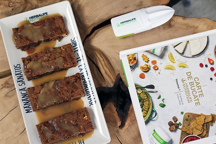 batoane hiperproteice toffee protein bars with topping