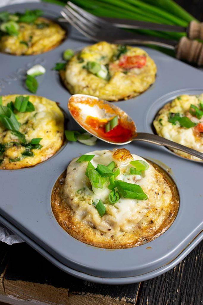 Breakfast Egg Bites Mini Omlete