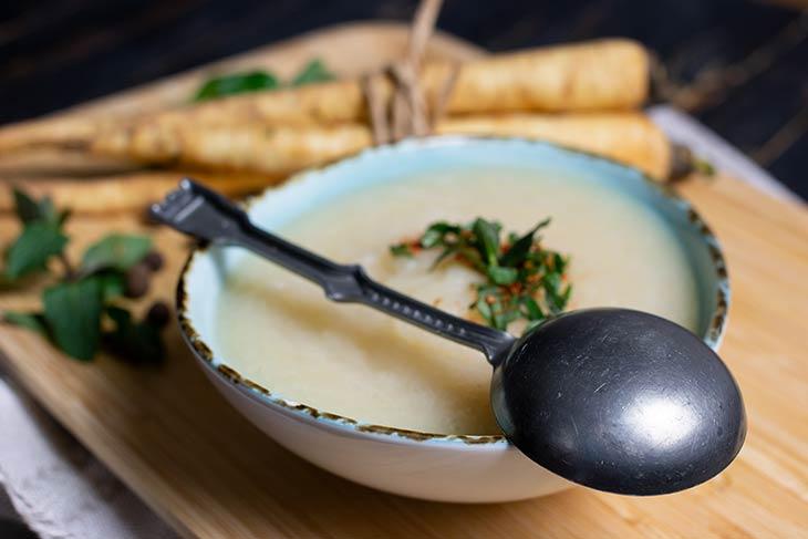 Cream of parsnip soup recipe