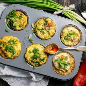 Egg Bites Mini Omlete la cuptor