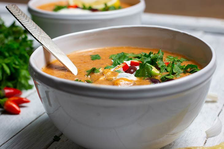 Mexican Kidney Bean Soup Recipe