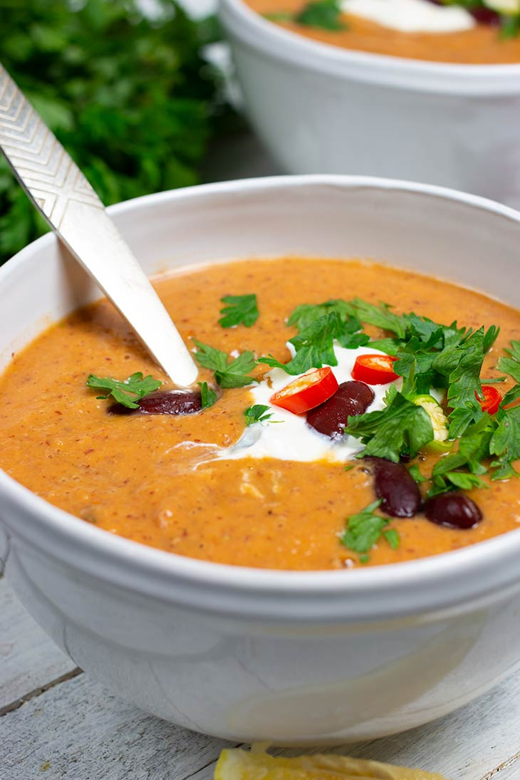 Mexican Kidney Bean Soup