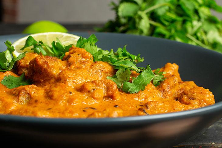 Pui in stil indian vegetarian