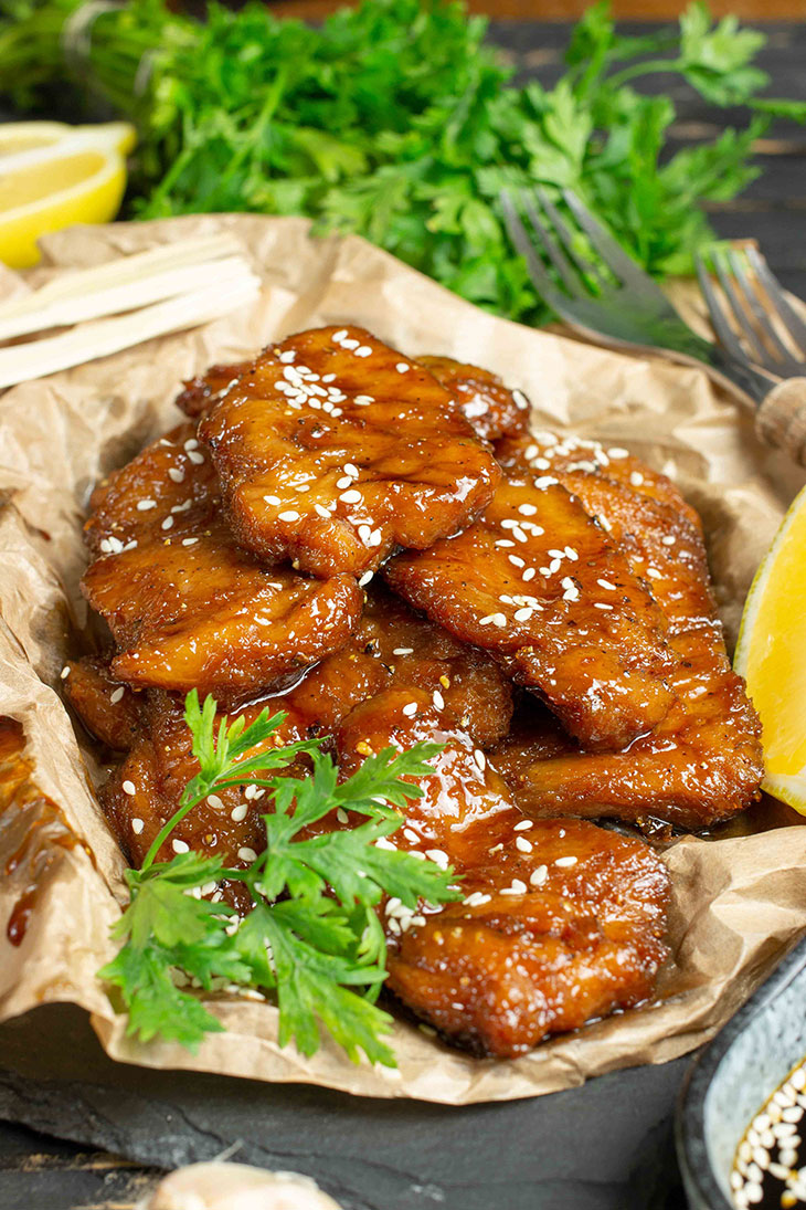 Vegan Teriyaki Wings Easy Recipe