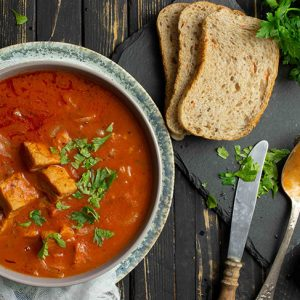 Vegan goulash soup recipe