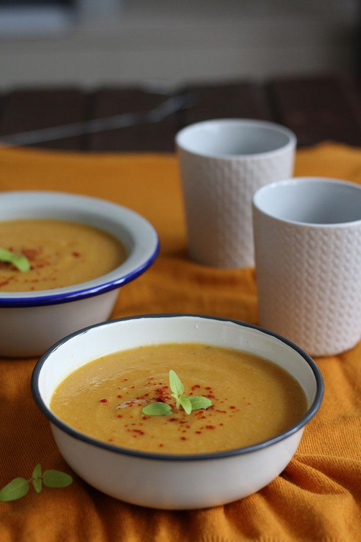 supa crema de legume rapida