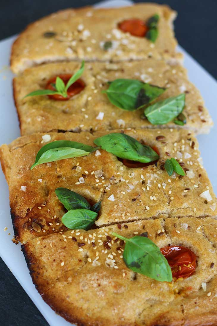 Focaccia with Seeds