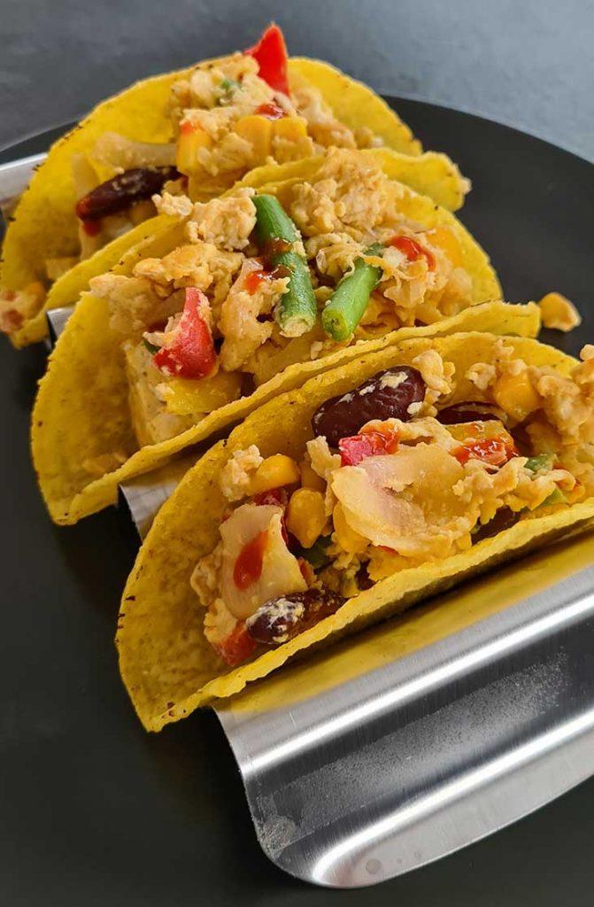 Hard Shell Breakfast Tacos