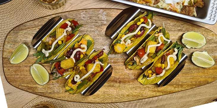 Hard Shell Veggie Tacos