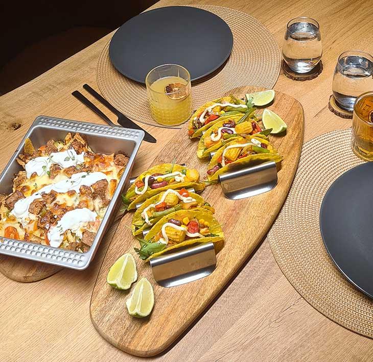 Nachos la cuptor mexicani