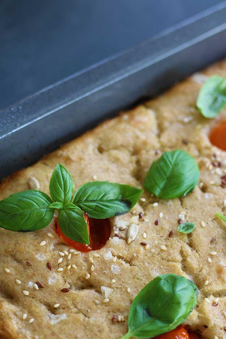 Simple Focaccia baking Recipe