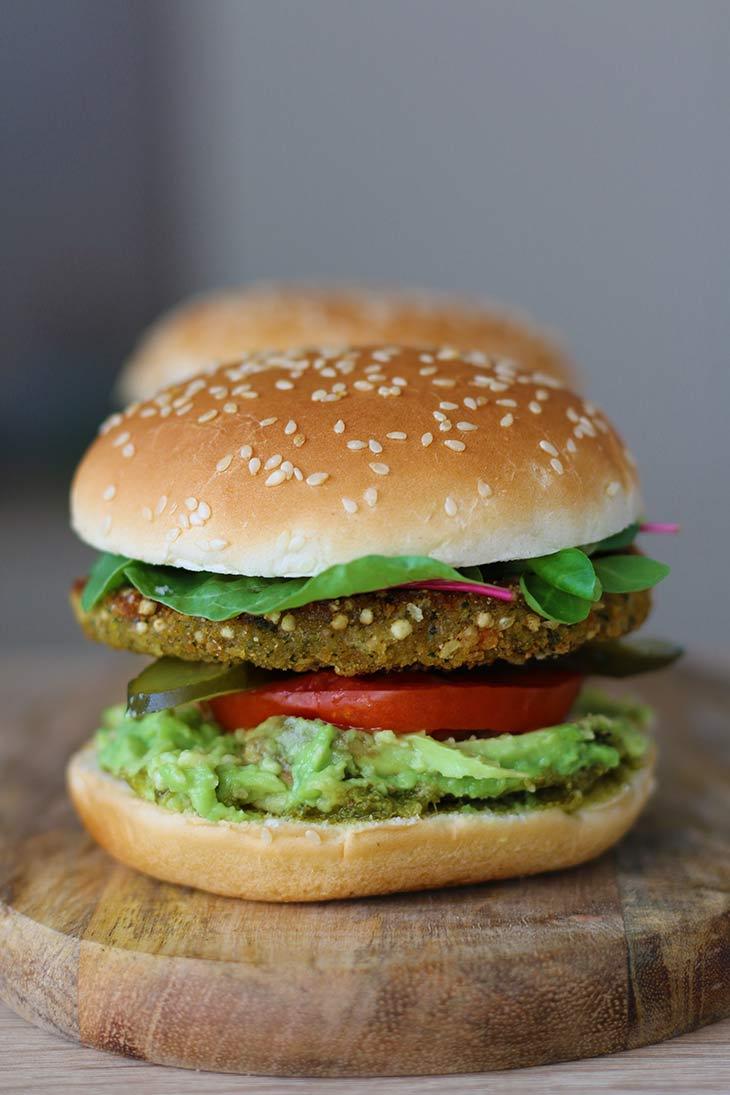 Broccoli-Quinoa Burger recipe