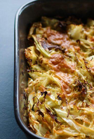Cheesy Cabbage Casserole Caserola de varza cu branza