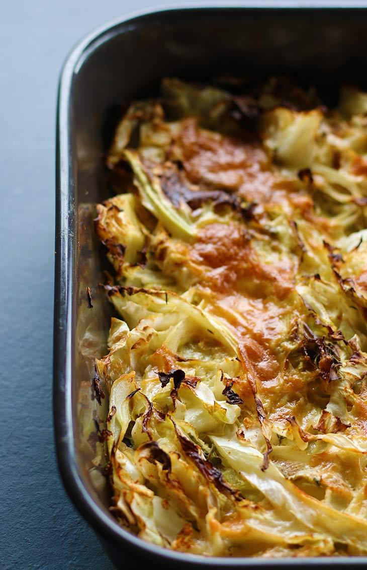 homemade Cheesy Cabbage Casserole