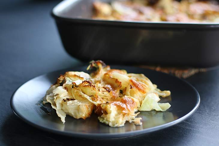 Cheesy Cabbage Casserole recipe