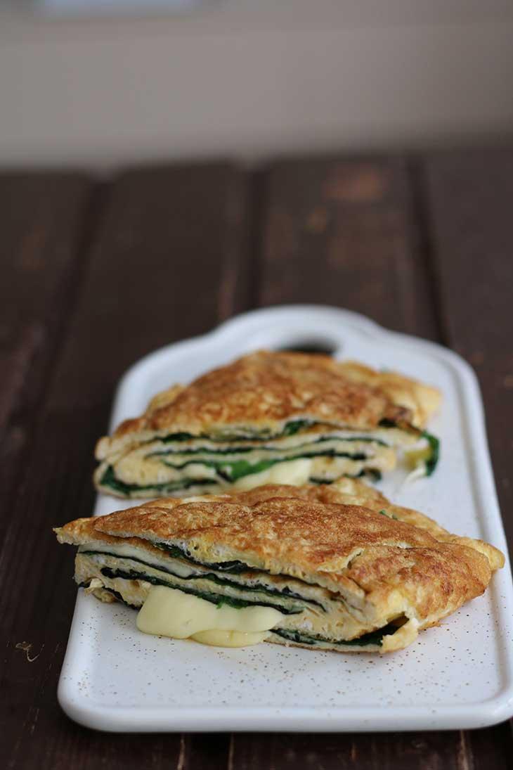Cheesy Keto Omelette