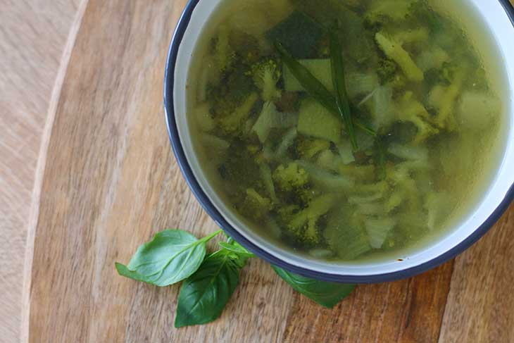 Easy Clear Broccoli Soup