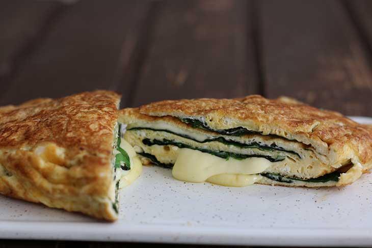 Cheesy Keto Omelette Recipe