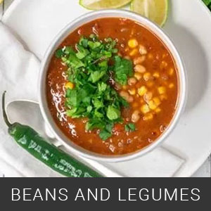 recipes with beans and legumes