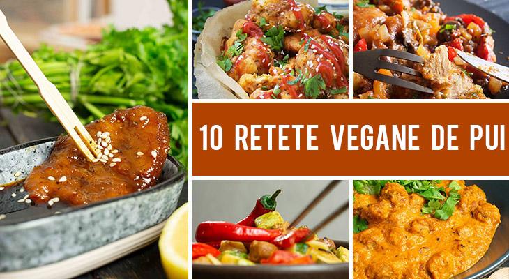 10 Alternative vegane la carnea de pui - retete