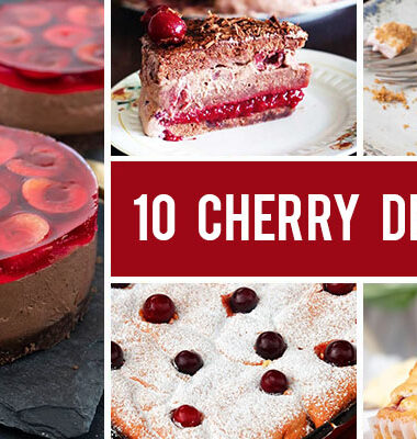 10 Beautiful Cherry Desserts You Can Easily Make At Home