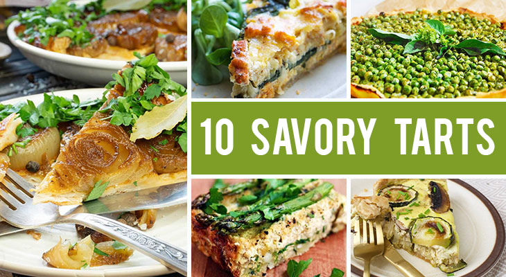 10 Savory Tart Recipes You'll Want To Bake Again and Again