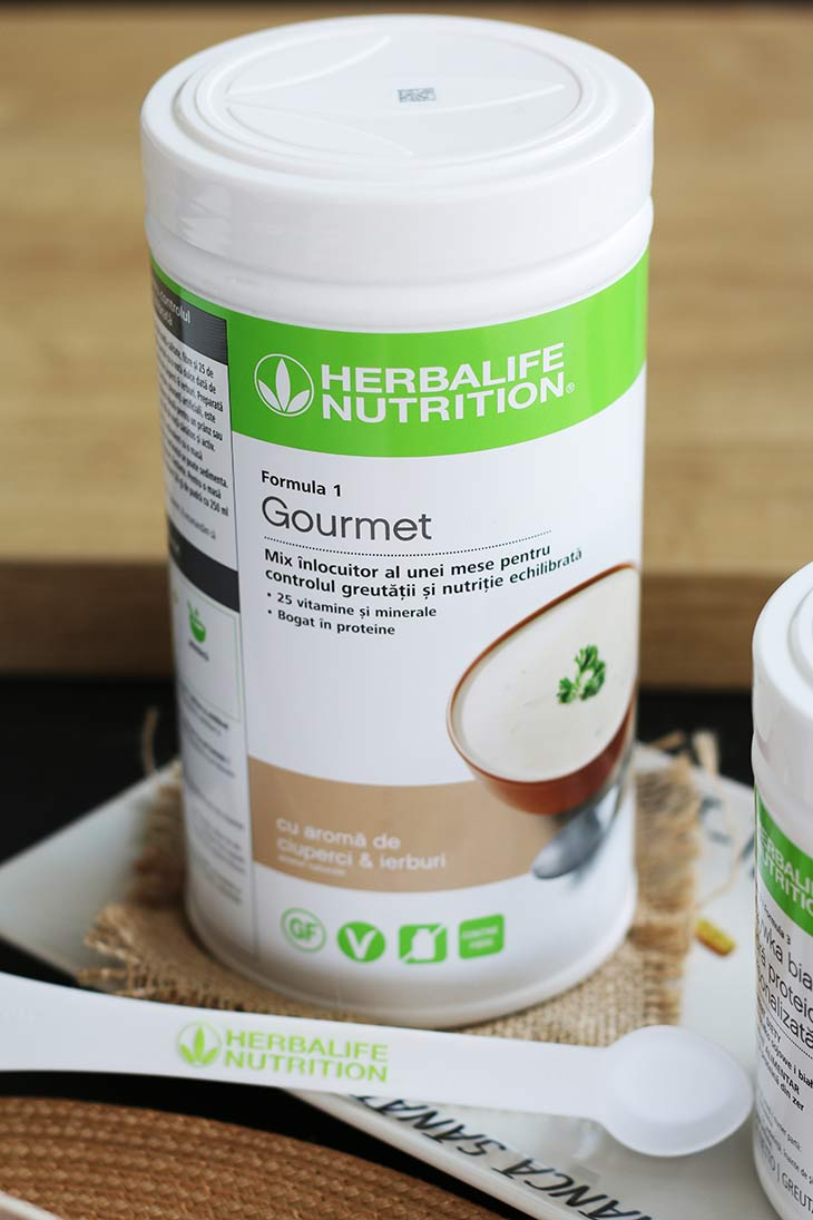 Herbalife Nutrition Gourmet pudra proteica