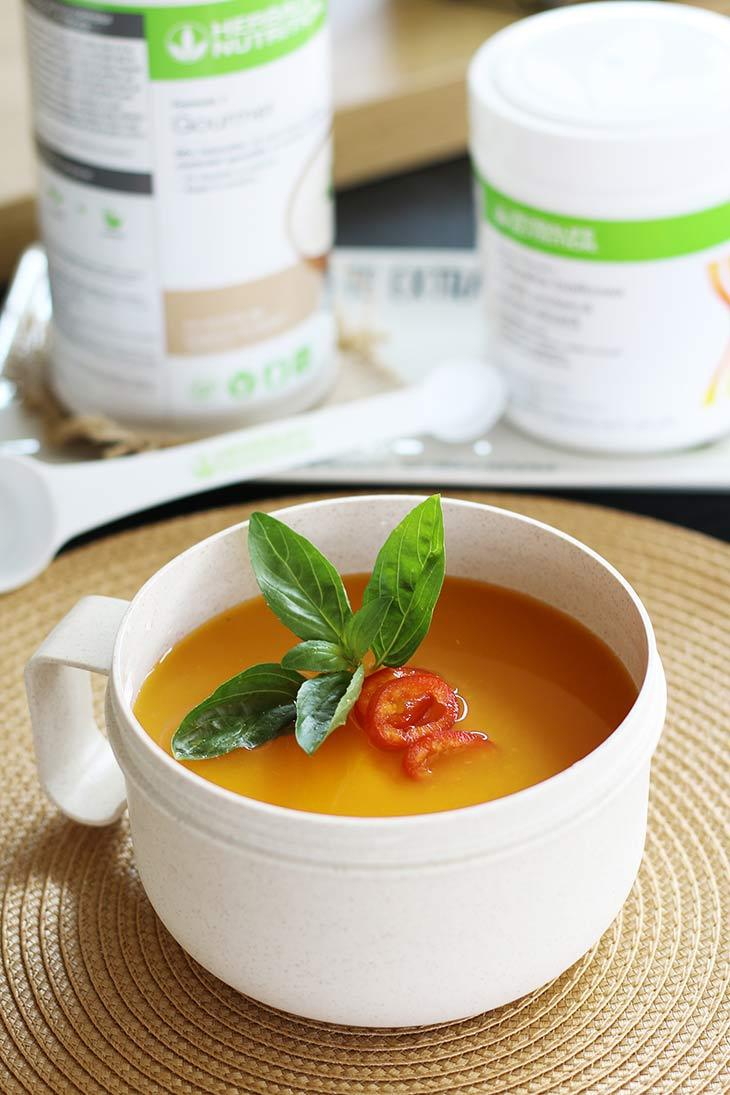 supa crema bogata in proteine protein-rich cream soup