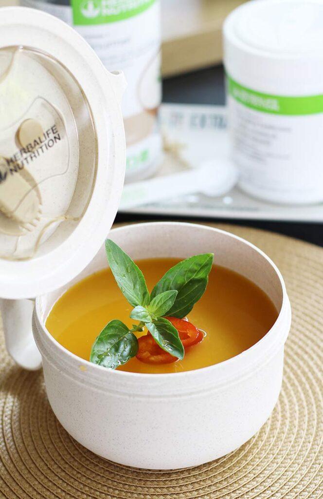 supa crema bogata in proteine reteta rapida protein-rich cream soup