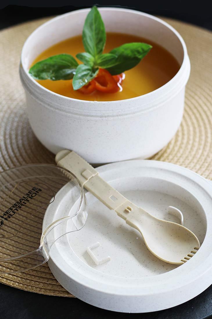 supa crema proteine protein-rich cream soup