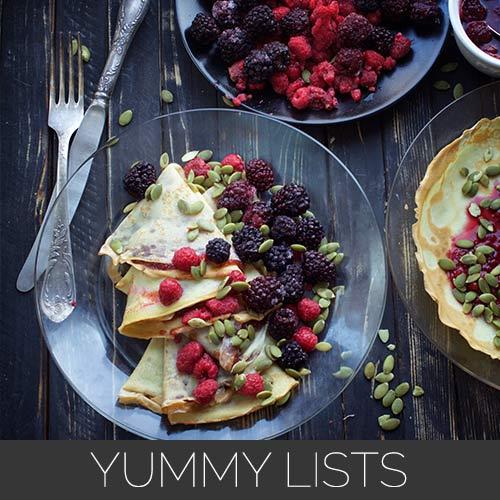 yummy lists