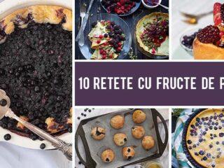 10 Retete cu fructe de padure care te vor uimi