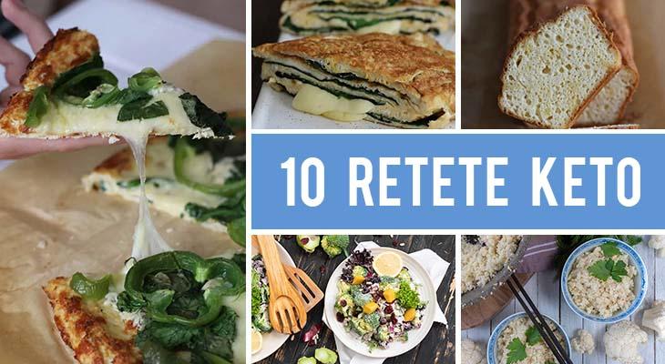 10 Retete keto vegetariene care te vor mentine in forma