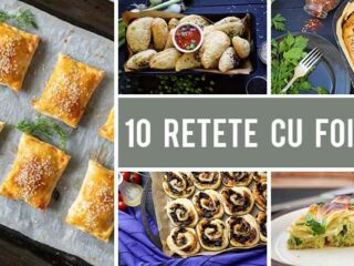 10+ Retete vegane cu foietaj - dulci si sarate