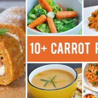 10+ Sweet and Savory Recipes with Carrots