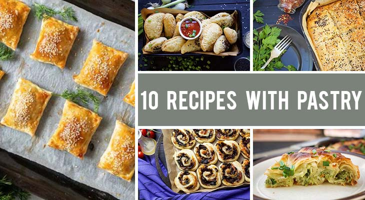 10+ Vegan Recipes with Pastry - Both Sweet and Savory