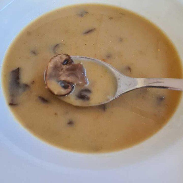 asian mushroom soup recipe supa de ciuperci cu arome asiatice