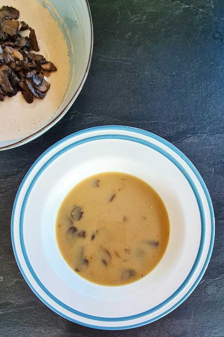 vegan Asian mushroom soup