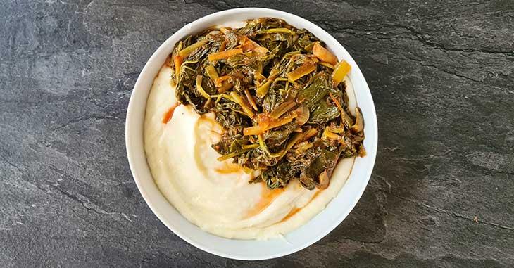 how to make a collard greens stew