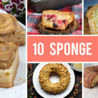 10 Sponge Cake Recipes That Are Simple and Easy to Make