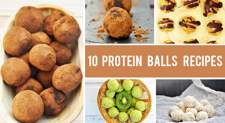 10 Truffles and Protein Balls Recipes for When You Need a Quick & Healthy Snack