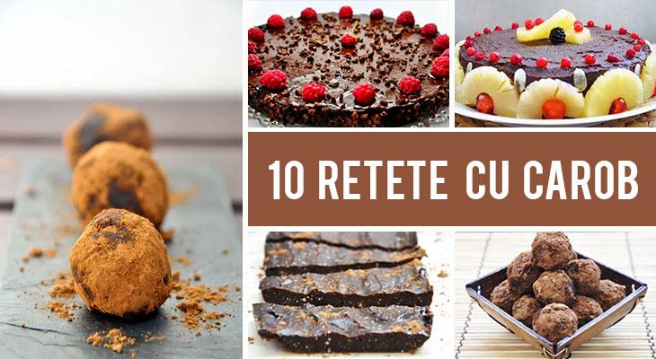 Cum sa folosesti pudra de roscove (carob) pentru a inlocui cacaoa - 10 Retete cu carob