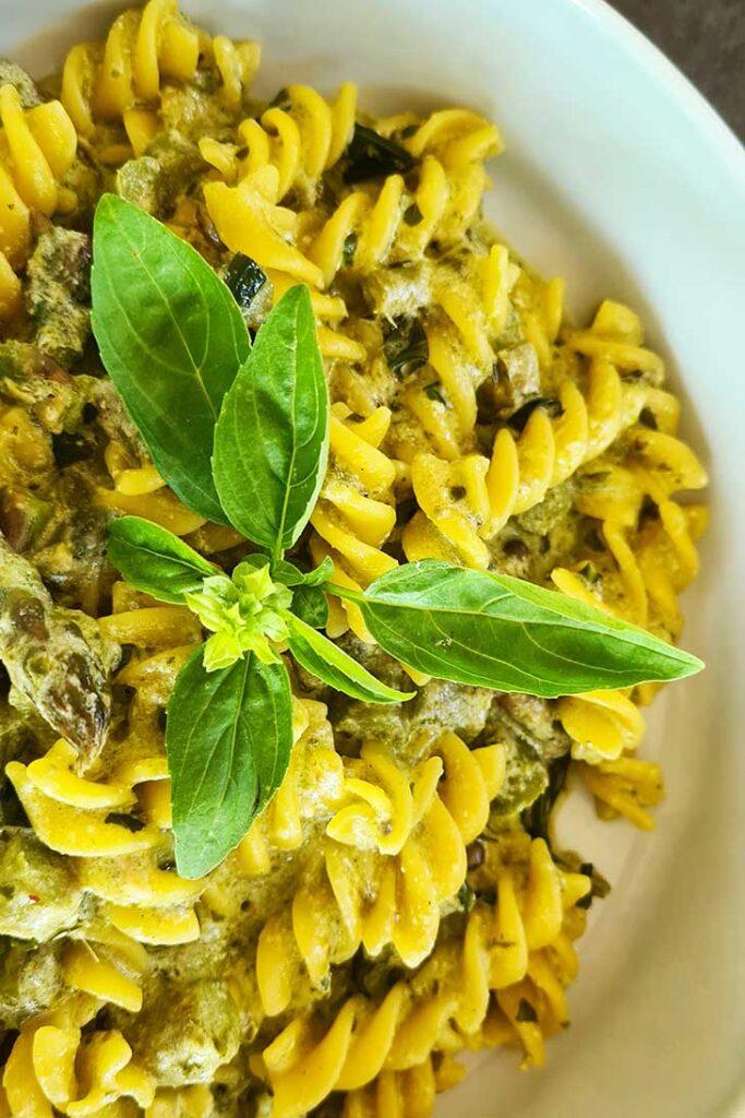 asparagus pasta paste cu sparanghel reteta