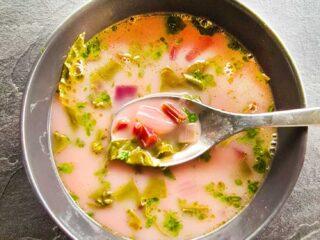 beetroot greens soup ciorba de frunze de sfecla